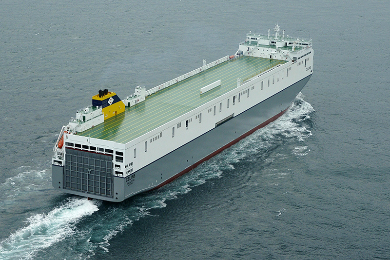 Largest Ro Ro On Its Way To Europe Ferry Shipping News