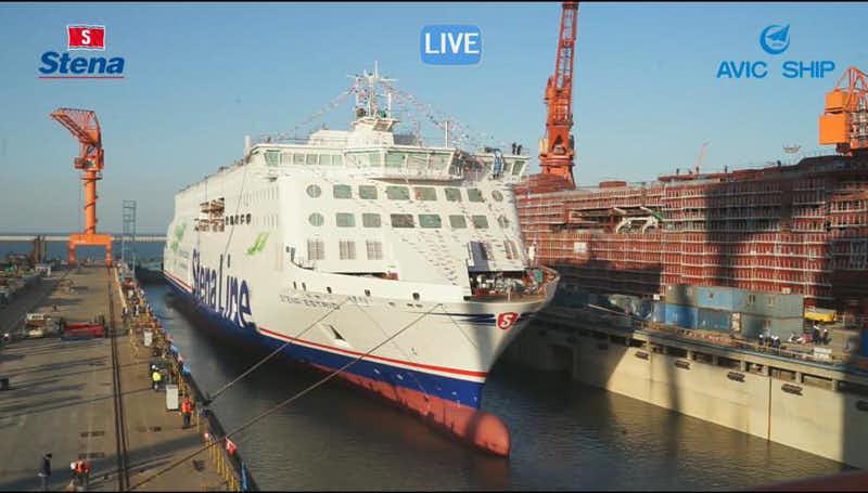 Tag: STENA ESTRID   Ferry Shipping News
